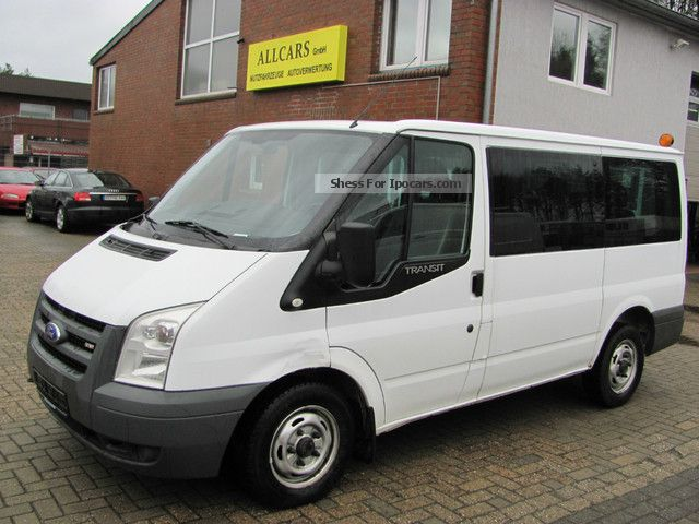 2006 Ford  9 seats air-L1 H1 81 KW 1.Hand Van / Minibus Used vehicle photo