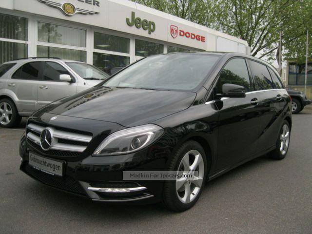 2012 Mercedes-Benz  B 200 CDI BE 1/Sport Navi Edition * Rear view camera Van / Minibus Used vehicle photo