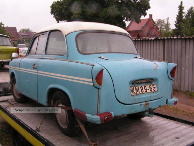 1959 trabant 500 p50 mk1 dashboard with round car photo and specs. Black Bedroom Furniture Sets. Home Design Ideas