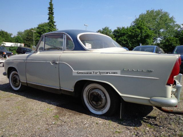 Borgward  Hansa 1100 coupe barn find 1959 Vintage, Classic and Old Cars photo