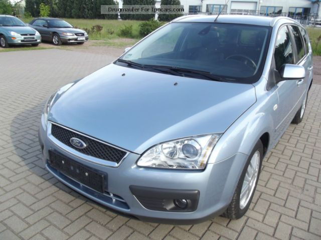 2005 ford focus turnier 1 6 ti vct ghia car photo and specs. Black Bedroom Furniture Sets. Home Design Ideas