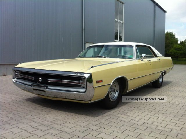Dodge  MOPAR Chrysler 300 Hurst 440cui V8 TÜV and H 1970 Vintage, Classic and Old Cars photo