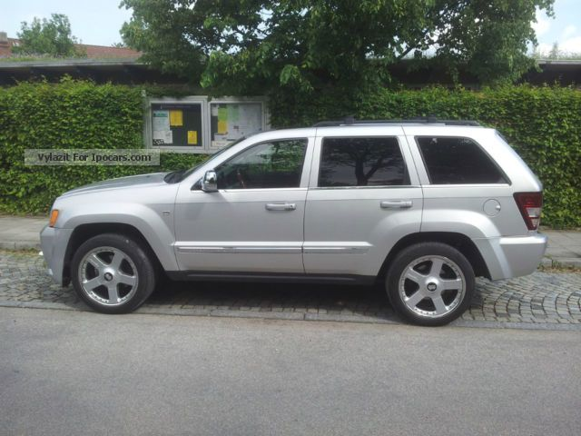 2005 jeep grand cherokee 3.0 crd limited auto - car photo and specs