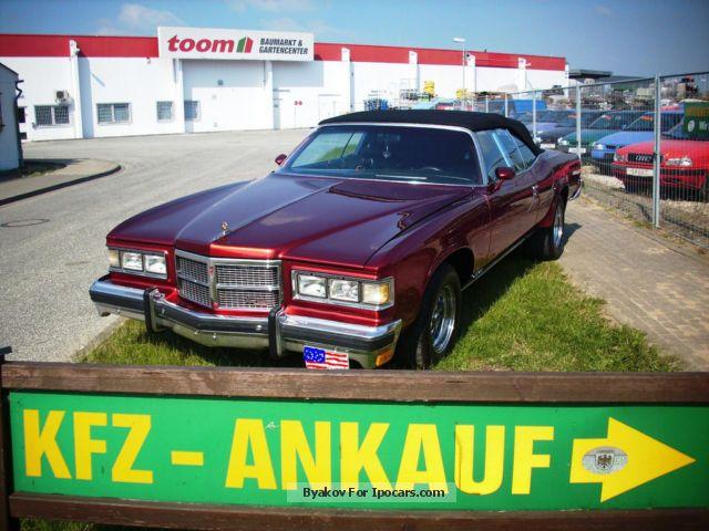 Pontiac  Grandville Brougham Big Block 455 Indians 1975 Vintage, Classic and Old Cars photo
