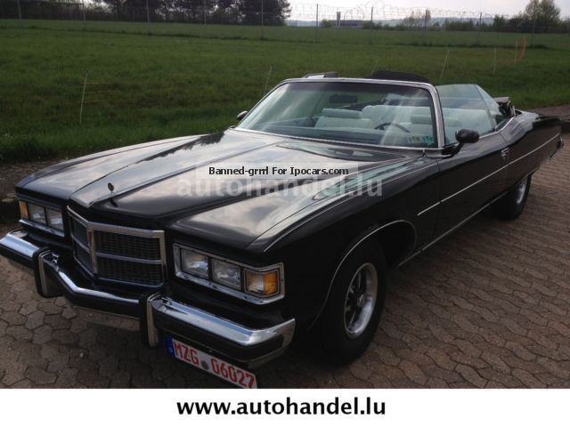 Pontiac  Grandville 1975 Vintage, Classic and Old Cars photo