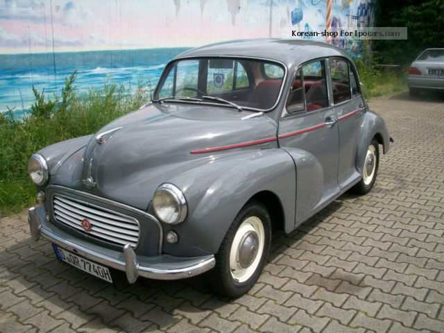 1962 Austin Morris Minor Car Photo And Specs