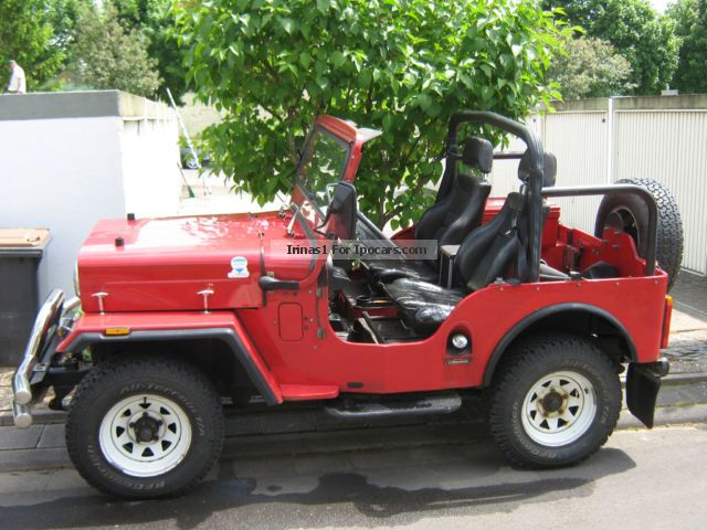 2000 Mahindra  CL 340 Off-road Vehicle/Pickup Truck Used vehicle photo