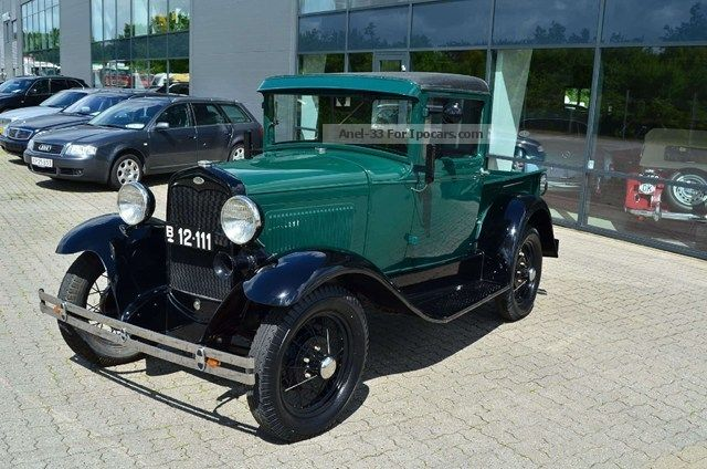 Ford  A 3.3 1931 Vintage, Classic and Old Cars photo