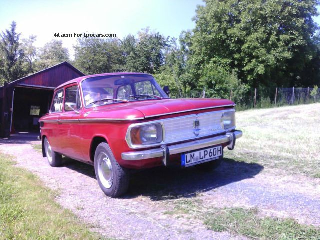 NSU  Pinz 1200 1971 Vintage, Classic and Old Cars photo