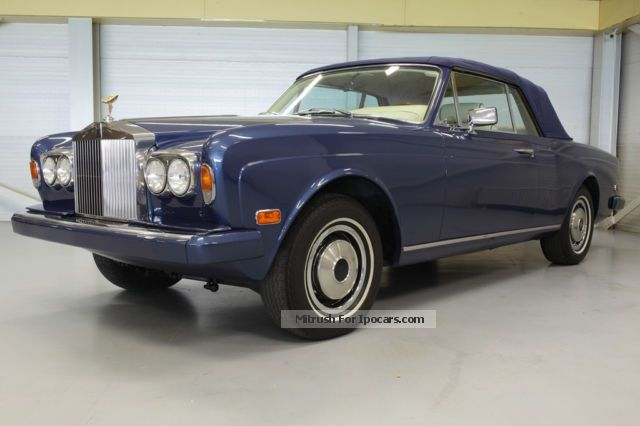 Rolls Royce  MPW convertible 1976 Vintage, Classic and Old Cars photo