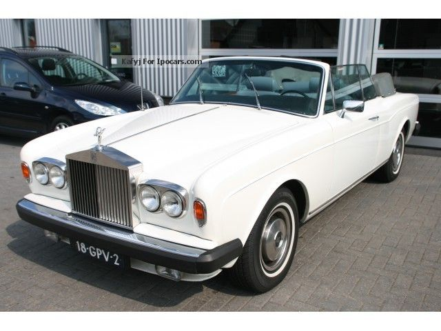 Rolls Royce  Corniche BELGIUM AUTO 1 eigenaar 1978 Vintage, Classic and Old Cars photo