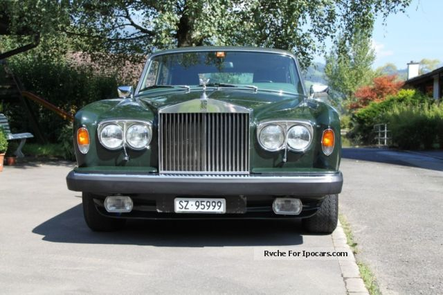 1978 Rolls Royce  Silver Wraith Ii Saloon Classic Vehicle photo