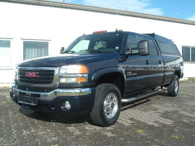 2006 gmc sierra 2500 hd 4x4 duramax car photo and. Black Bedroom Furniture Sets. Home Design Ideas