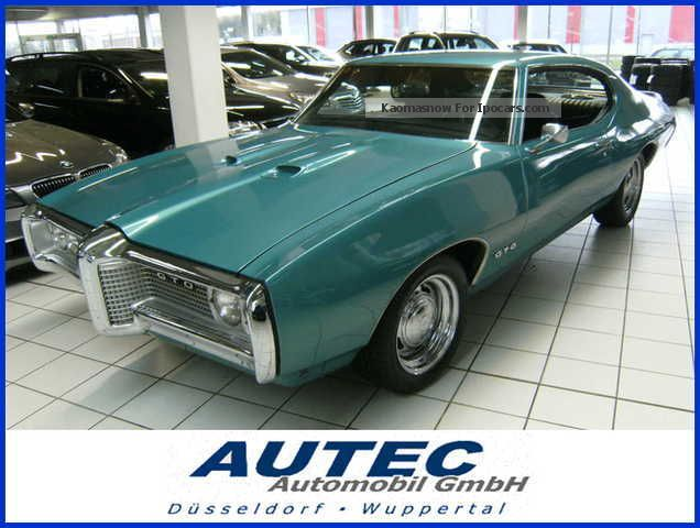 1969 GMC  Pontiac GTO Le Mans Grand Prix 6.6 liter 400 Sports Car/Coupe Used vehicle photo