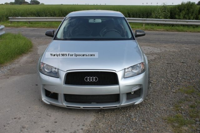 2008 Audi  * A3 3.2 Turbo 460PS DSG HGP Zender * NP * € 90,000 Saloon Used vehicle photo