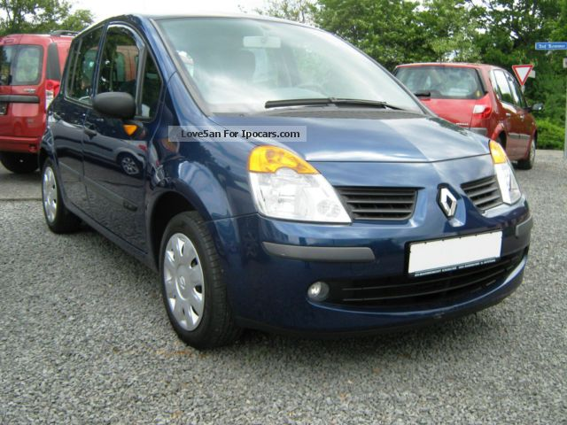 2005 renault modus 1 6 16v air cite car photo and specs. Black Bedroom Furniture Sets. Home Design Ideas