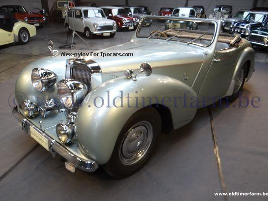 Triumph  2000 Roadster 1949 Vintage, Classic and Old Cars photo