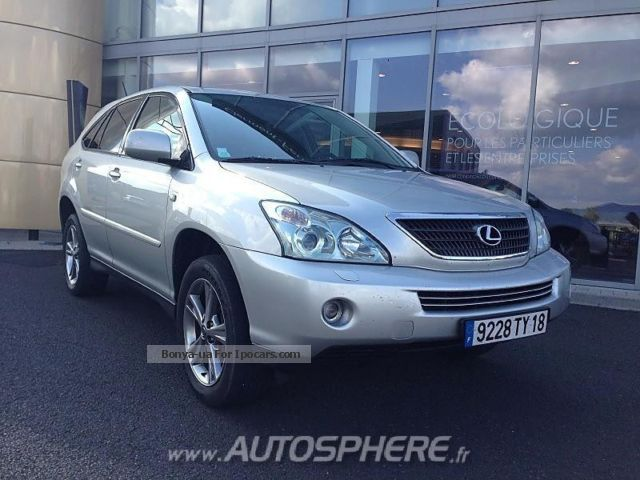 Lexus  RX 400h 3.3 V6 Pack President 2005 Hybrid Cars photo