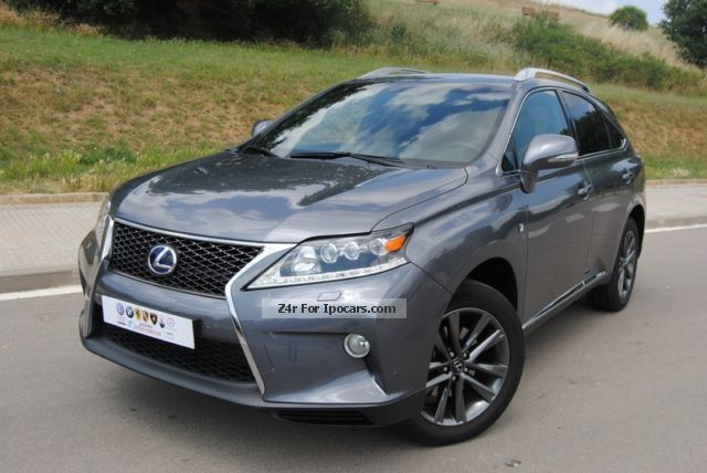 Lexus  RX 450h (hybrid) F SPORT MODEL 2,013 2013 Hybrid Cars photo