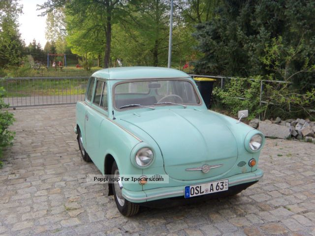 Trabant  P 60 1963 Vintage, Classic and Old Cars photo