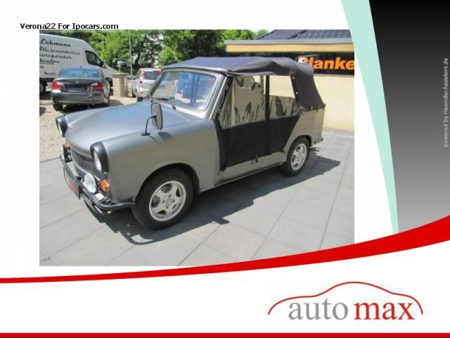 Trabant  Bucket restored once-watch-100% 1970 Vintage, Classic and Old Cars photo