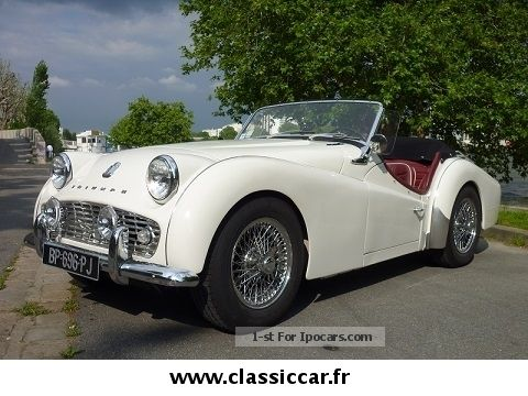Triumph  TR3 1961 Vintage, Classic and Old Cars photo