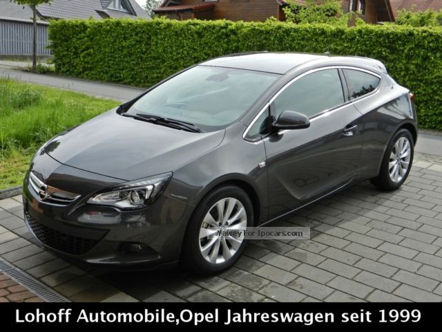 2012 Opel  Astra GTC 1.6 Turbo Innovation * not * Tenant 2xPDC Sports Car/Coupe Used vehicle photo