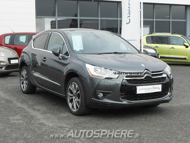 2012 citroen ds4 2 0 hdi160 fap sport chic car photo and specs. Black Bedroom Furniture Sets. Home Design Ideas