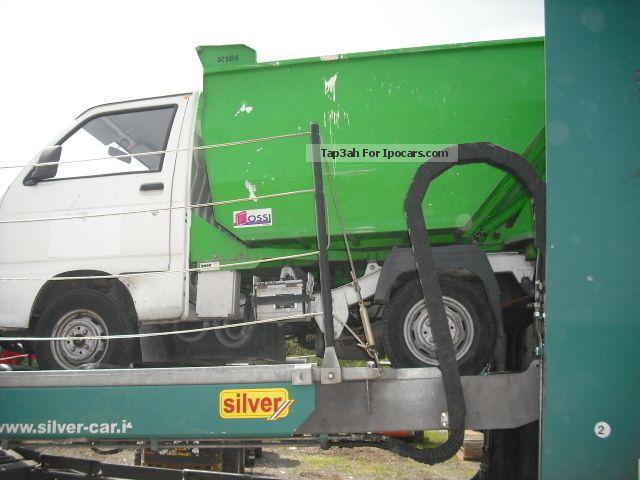 2000 Piaggio  4x Tipper ELEKTRIC mull sale in stock Van / Minibus Used vehicle photo