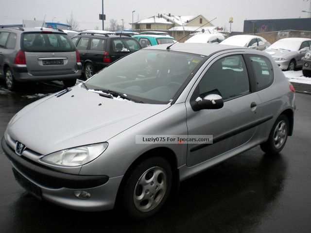 1999 peugeot 206 75 automotikgetr only car photo and specs. Black Bedroom Furniture Sets. Home Design Ideas