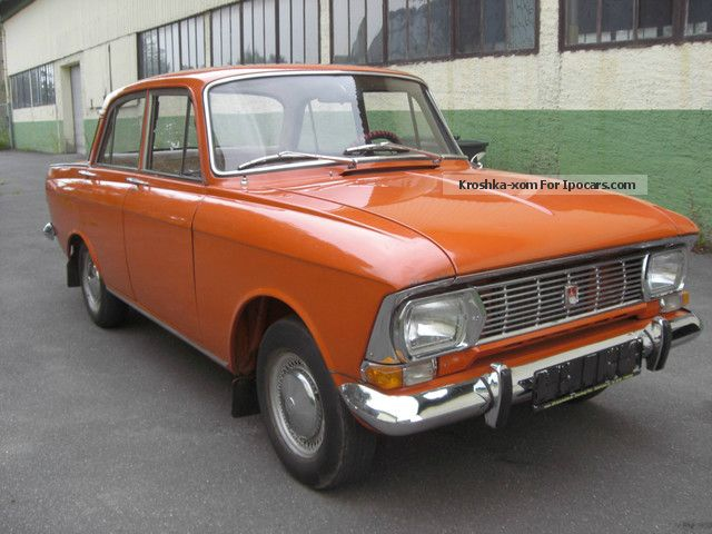 Lada  Moskvich 408i.e. Original paint film car 1975 Vintage, Classic and Old Cars photo