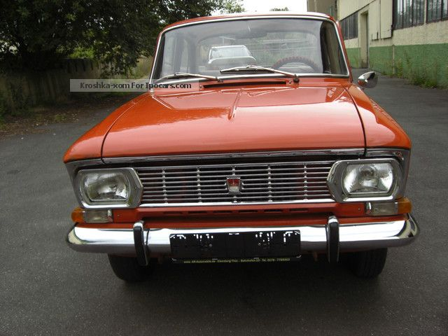1975 Lada Moskvich 408i E Original Paint Film Car Car
