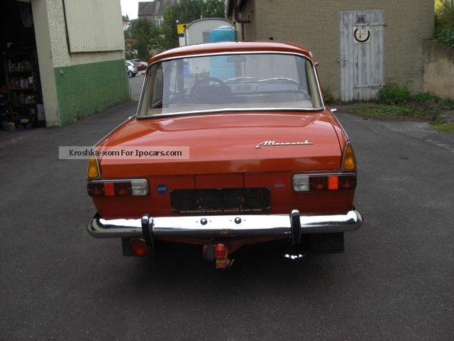1975 Lada Moskvich 408i E Original Paint Film Car Car