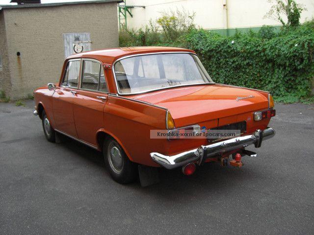 1975 Lada Moskvich 408i E Original Paint Film Car Car Photo And Specs