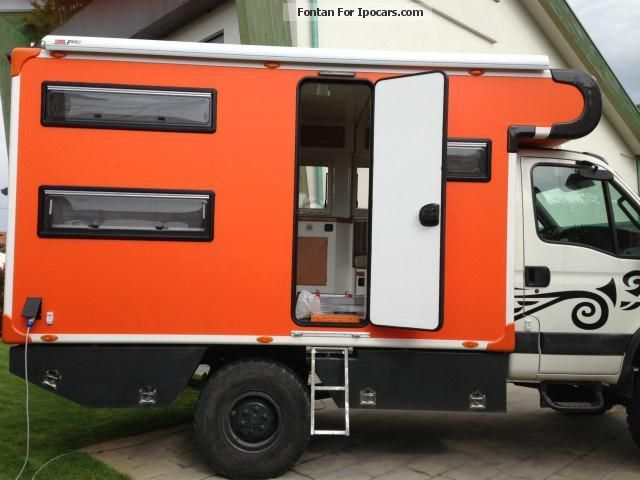 2008 iveco daily 55s18w 4x4 camper car photo and specs