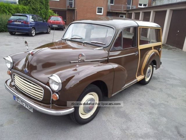 Austin  Morris Minor Traveller 1969 Vintage, Classic and Old Cars photo