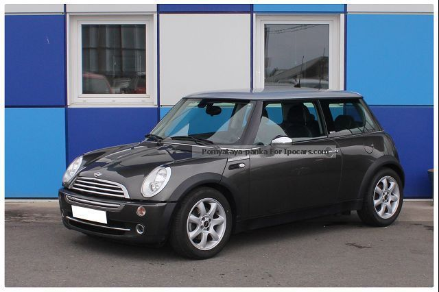 2005 mini 115hp 1 6 cooper park lane car photo and specs. Black Bedroom Furniture Sets. Home Design Ideas