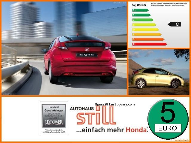 2013 Honda  Civic 1.4 i-VTEC Comfort AKTIONSPREIS Saloon Used vehicle photo