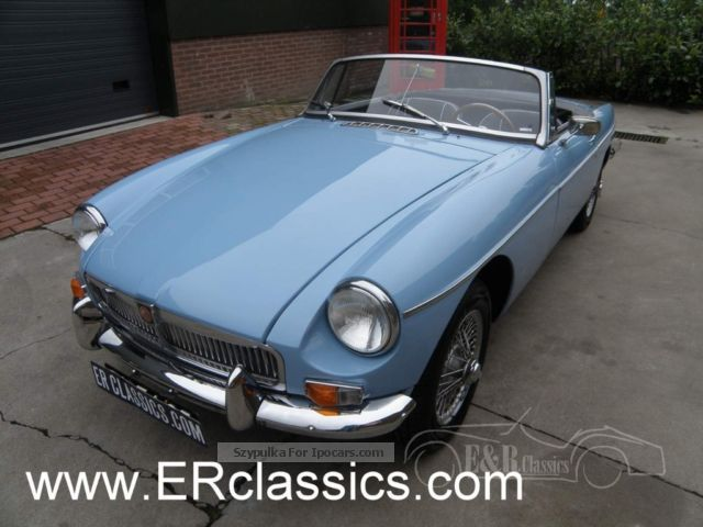 1964 MG  Restored 1964 Convertible Baby Blue Cabriolet / Roadster Classic Vehicle photo
