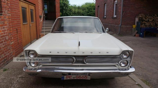 Plymouth  1966 Fury I WITH TUV APPROVAL AND H 1966 Vintage, Classic and Old Cars photo