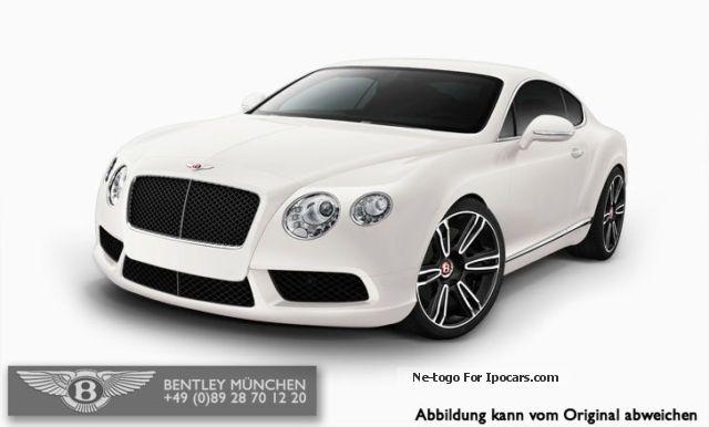 2012 Bentley MODEL GT V8 2014 + MULLINER \u0026 TOURING PACKAGE Sports Car /Coupe