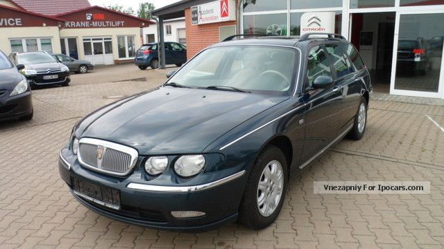 2002 MG  Rover 75 2.0 CDT Celeste, climate control, LM fields Estate Car Used vehicle photo