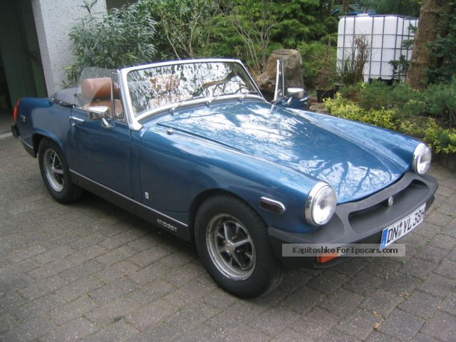 Mg midget dimensions