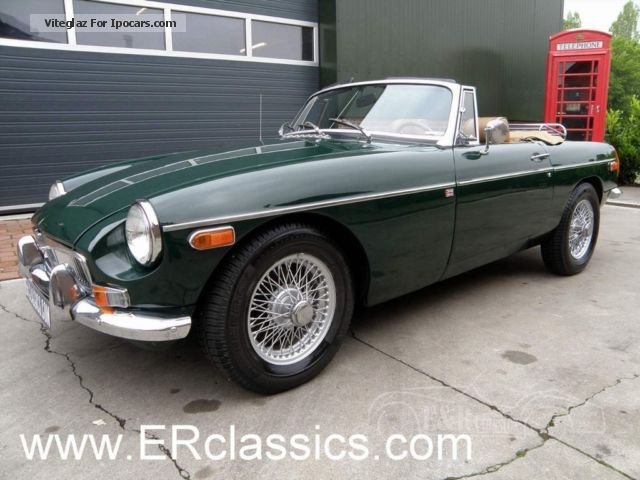 MG  British Racing Green restored in 1970 1970 Vintage, Classic and Old Cars photo