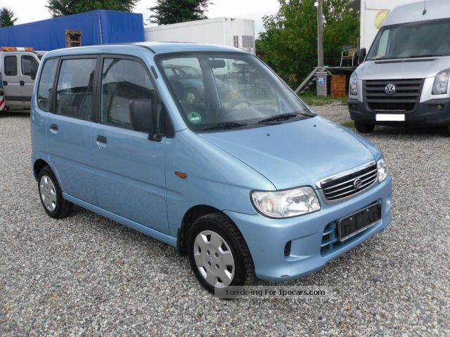 2002 Daihatsu Move Blue Line - Car Photo and Specs