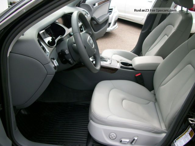 2013 Audi A4 2.0 TFSI quattro leather xenon Saloon Used vehicle photo