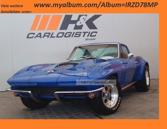 Corvette  C2 Coupe 3-stage Auto German approval. 1966 Vintage, Classic and Old Cars photo