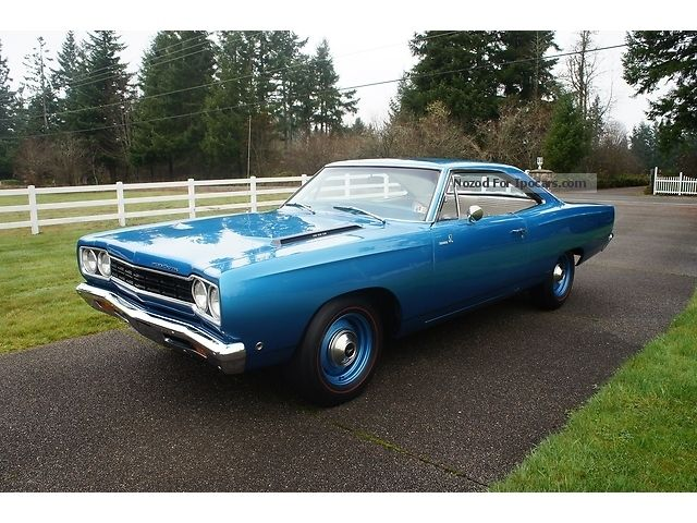 Plymouth  Roadrunner 1968 H-approval matching numbers 1968 Vintage, Classic and Old Cars photo