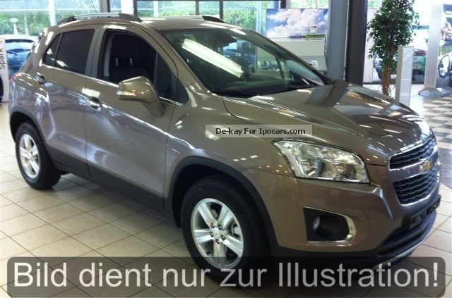 2012 Chevrolet  Trax LT 1.6 Start / Stop GREY pre-Septembe Off-road Vehicle/Pickup Truck New vehicle photo