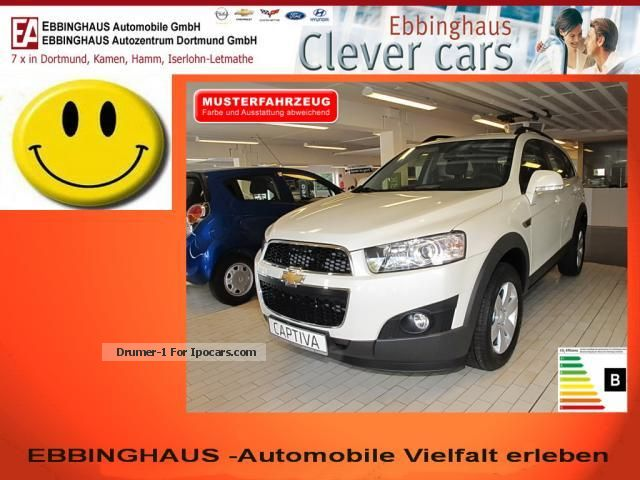 2013 Chevrolet  Captiva 2.2 LTZ S / S 4WD Navi Climate Off-road Vehicle/Pickup Truck Demonstration Vehicle photo